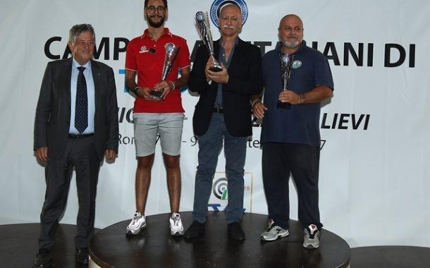 Premiazione classifica Gran Premio Giovani 2016. Candela è 2^