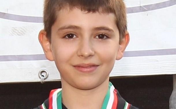 Finali Nazionali Campionato Giovanissimi 2017. Ancora una volta Tommaso c'è e bissa il successo del 2016.