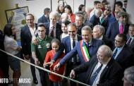 Tiro a Segno Candela. il Presidente del CONI Giovanni Malagò inaugura il Museo Storico.