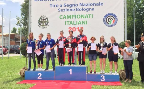 Finali Campionati Italiani 2018. Podio d'onore per le Donne di C10