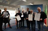 La Sezione di Candela premiata dal Sottosegretario di Stato On.le Giorgetti