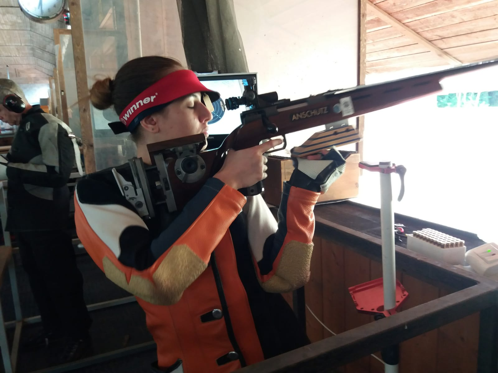 Record di Miriana De feo nell'Arma Libera a Terra JD