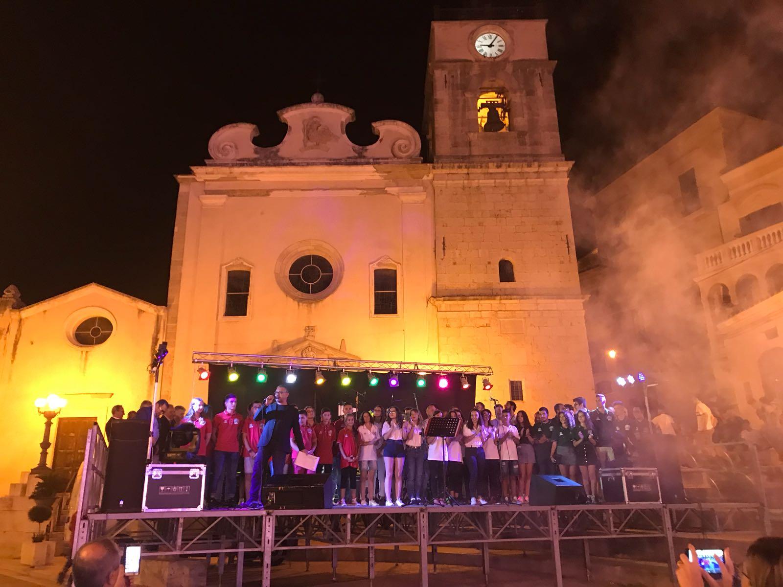 Candela. Festeggiamenti in piazza per la conquista del Titolo Italiano di tiro a segno 2018