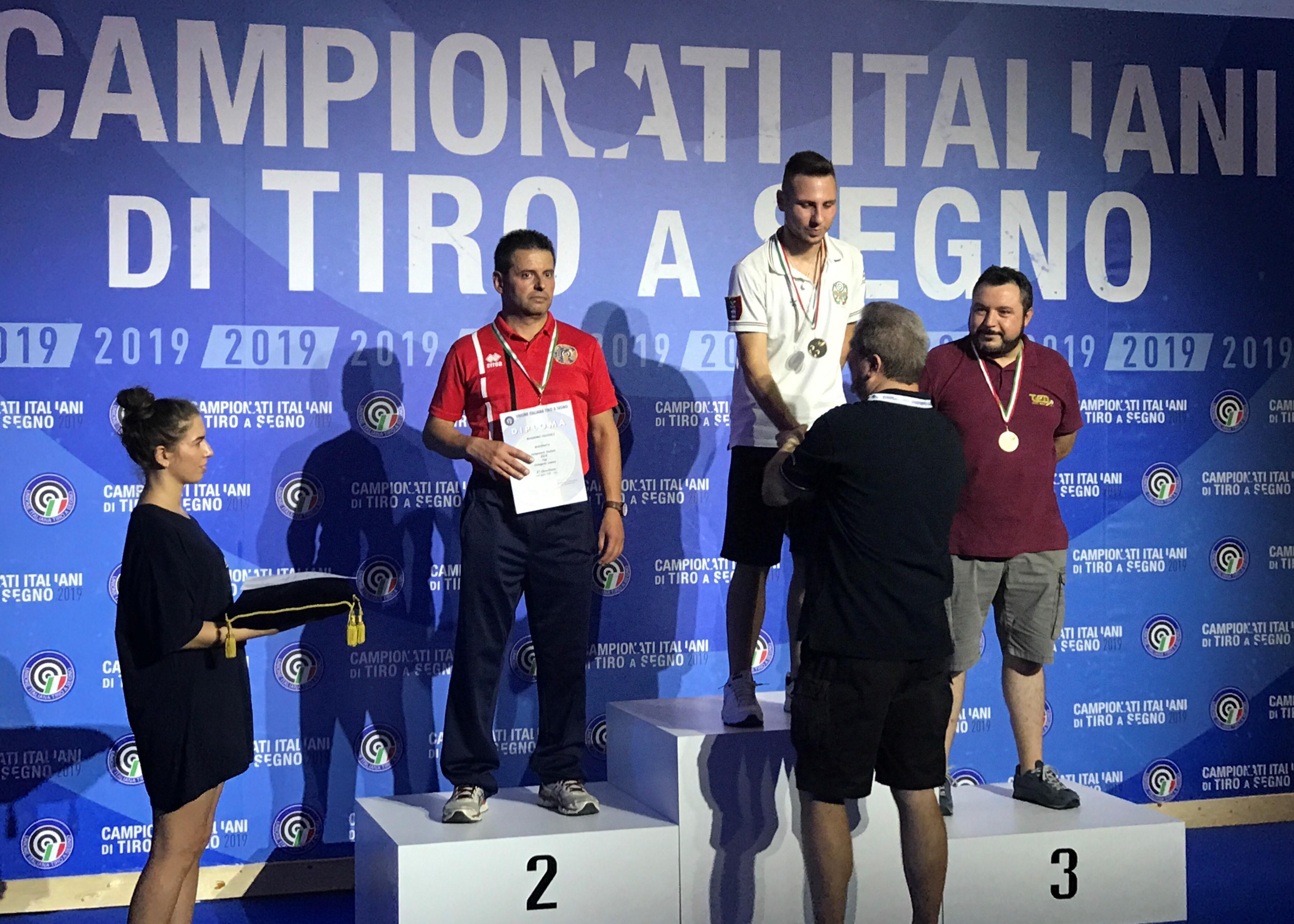 Campionati Italiani Bologna 2019. Candela parte col piede giusto.