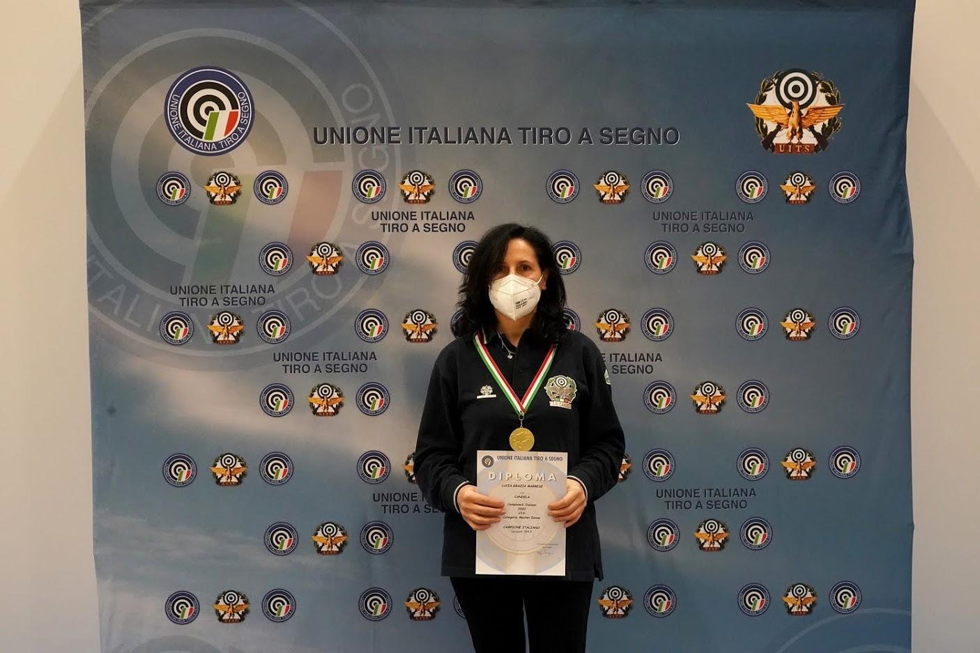 Finali dei Campionati Italiani Senior 2020 di Tiro a Segno. Candela ancora a podio.