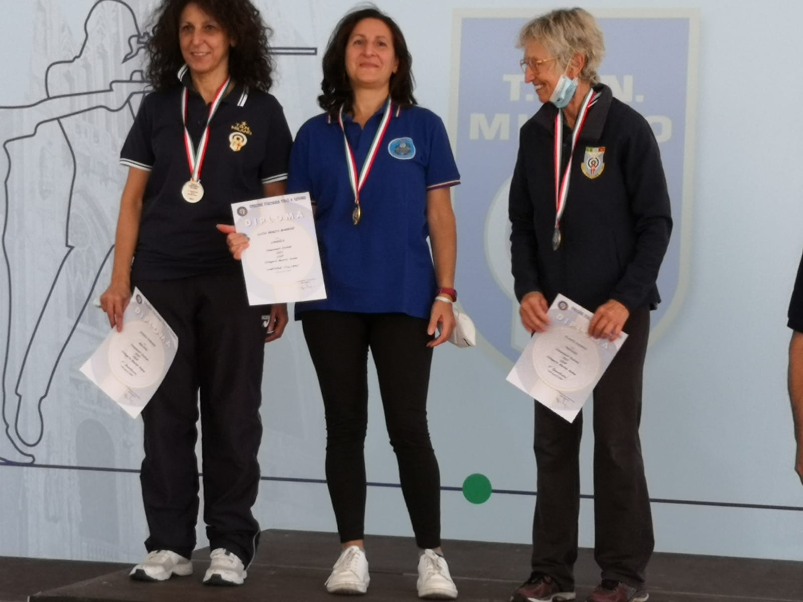 Terminate le finali dei Campionati Italiani 2021. Il TSN Candela primo nel medagliere.