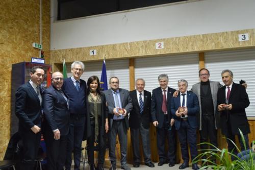 Premiazione del CD e del Segretario