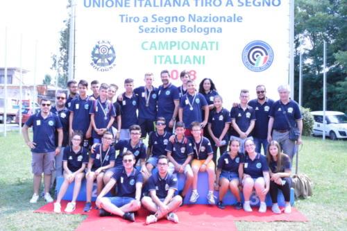 CI Bologna 2018 parte degli atleti partecipanti