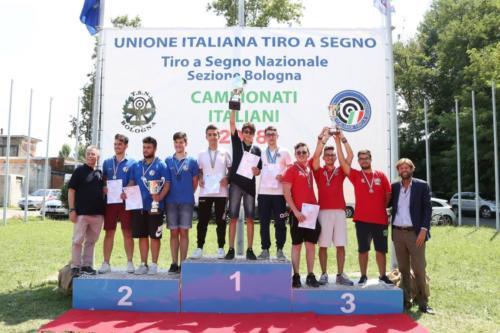 PAJU Squadra con podio completo Candela 3^ Cl