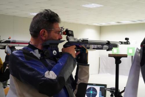 Riccardo Solazo in azione C10-MU