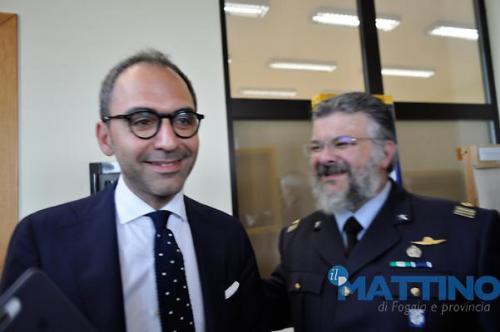 l'Assessore regionale pugliese allo sport e bilancio Raffaele Piemontese
